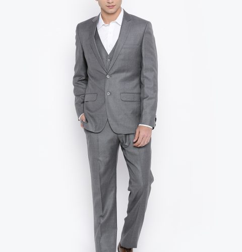 Contemporary-Fit-Three-Piece-Suit