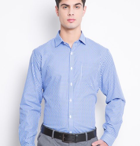Fit Checked Formal Shirt