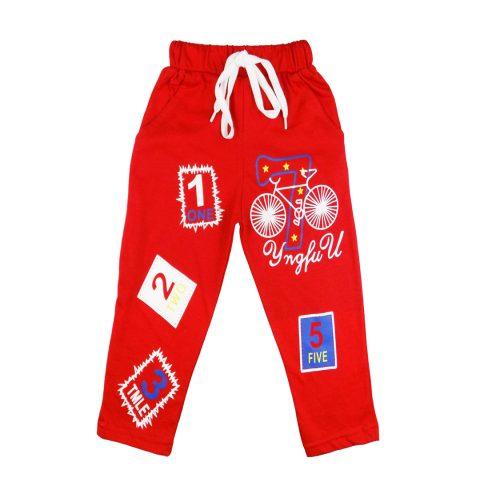 Printed Slim Fit Track Pants