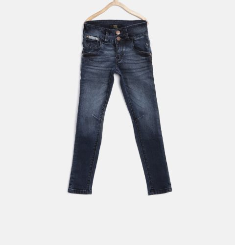 Washed Slim Jeans 3